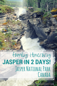 Visiting Jasper National Park, Canada with your family? Here's a two day fun-filled itinerary to help you plan your activities.