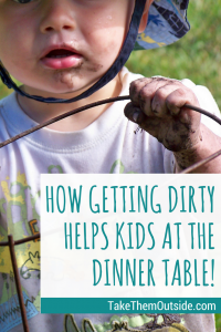 Picky Eaters | Let them explore and get dirty and see improvements with food aversions #kids #food # problems