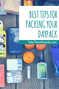 Packing your daypack | Hiking with Kids | #printable