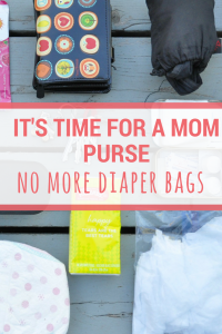 How to pack a mom purse | #mom #purse #emergency kit