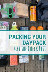 How to pack your daypack | Family hiking. #daypack #hikingwithkids