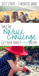 Bring more nature into your busy family life with this nature challenge | #outdoorfamilies #naturechallenge #getoutside #naturelovers