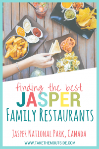 Planning a visit to Jasper and Banff National Parks? Here's a local's top family restaurant suggestions for Jasper | #jasper #jaspernationalpark #familyrestaurants #familyvacation
