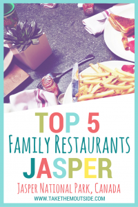 Need some help choosing where to eat in Jasper National Park? Try these family restaurants! | #jasper #jaspernationalpark #familyrestaurants #familytrip #canada