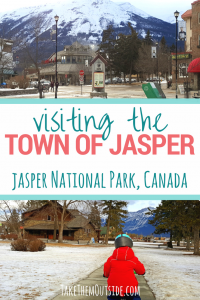 What to see and do in the Town of Jasper in Jasper National Park, Alberta, Canada | Jasper travel guide for families | #jasper #jaspernationalpark #familytrips