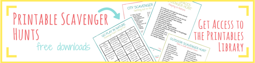 Printable Camping Scavenger Hunts For Kids And Families Take Them