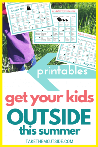 Image of printable summer activity calendars available for download