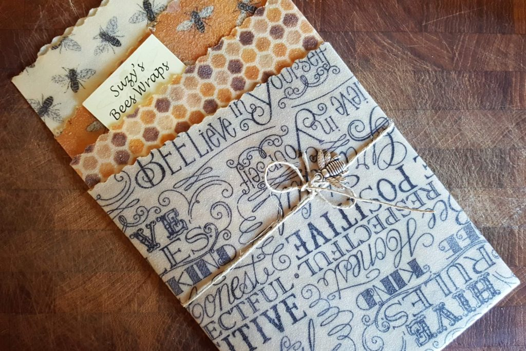 suzy's bees wraps all packaged in a nice gift-giving set