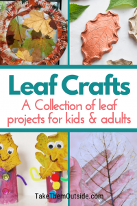 various leaf arts for kids and adults to make - leaf people, leaf wreaths, leaf bowls, skeleton leaves