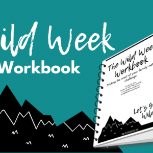 Cover image of the Wild Week Workbook