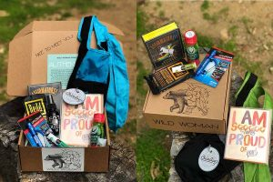outdoor gear, adventure swag, and goodies delivered in the outdoor woman subscription box