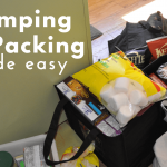 Tips and a checklist to simplify your family camping trip!