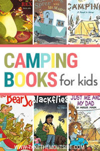 images of camping books for kids