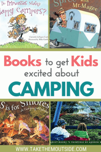 cover pictures from camping books for kids