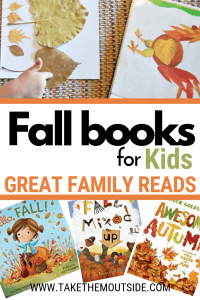Various picture kids books for fall