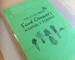A green food grower's journal and planner