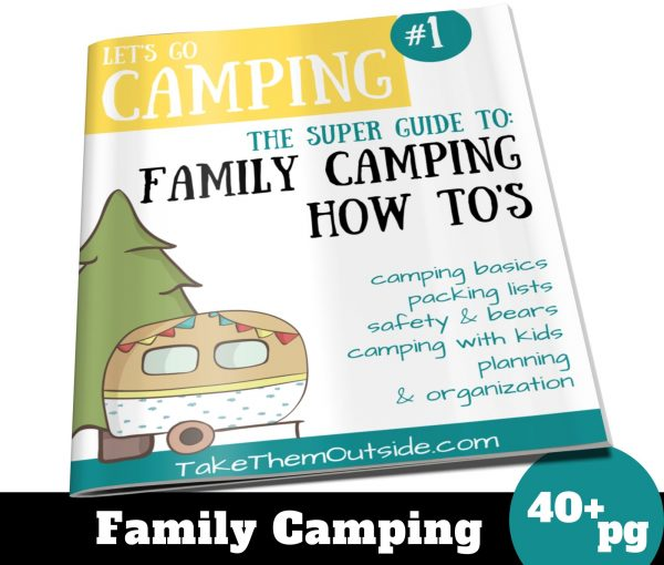 super guide to family camping ebook cover image