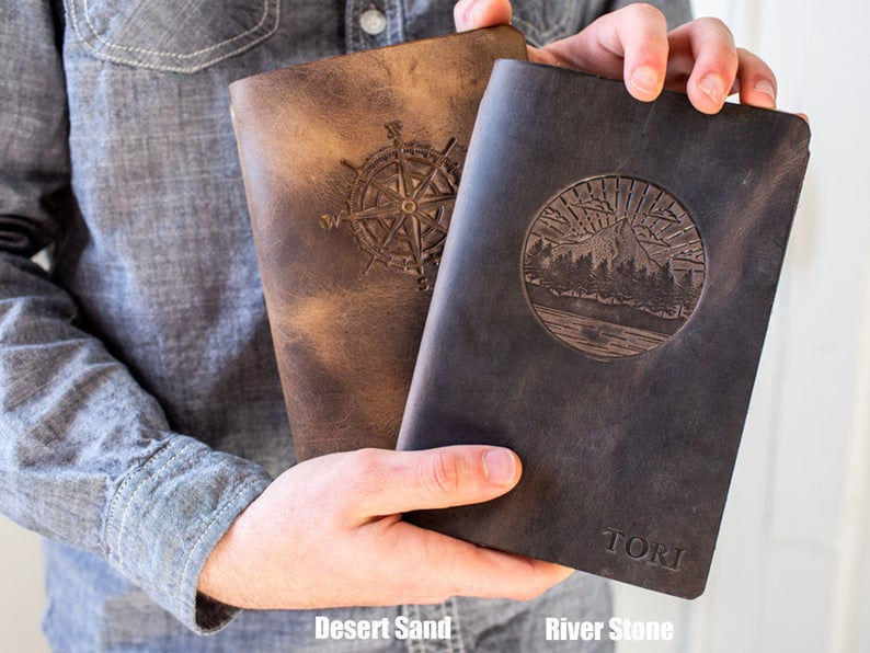 leather bound journals for men