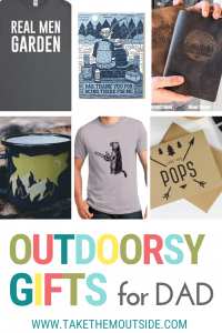 various gifts for outdoorsy dads