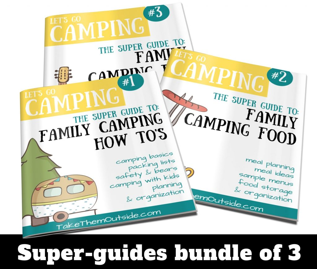 cover image of family camping super guides