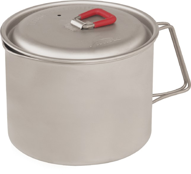 a camping kettle