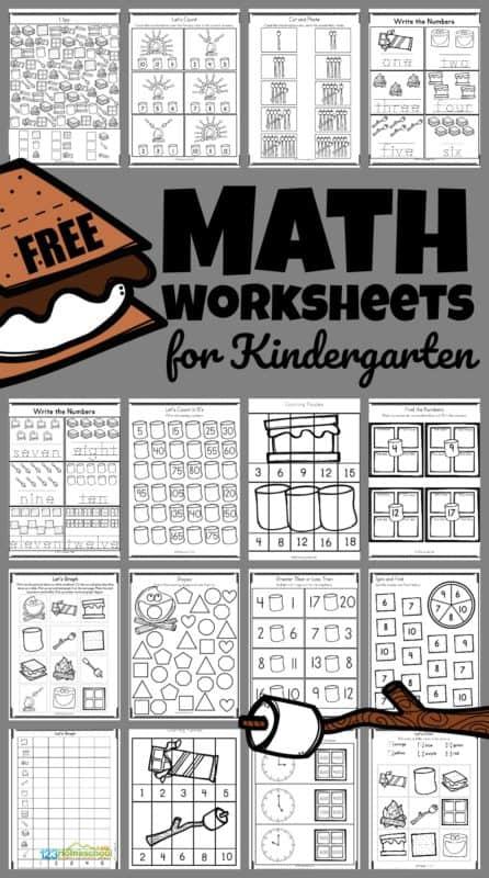 printable camping math worksheets